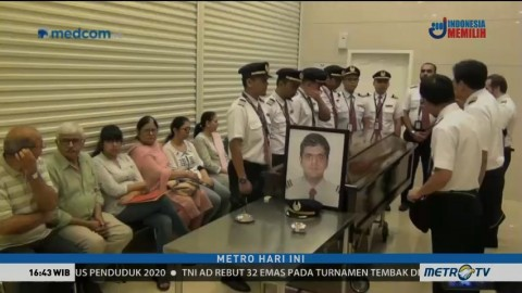 Jenazah Pilot Lion Air Disemayamkan di Rumah Duka Dharmais