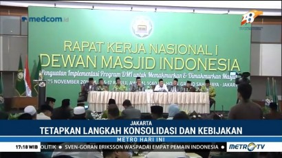 DMI Bahas 10 Program Utama Optimalisasi Fungsi Masjid