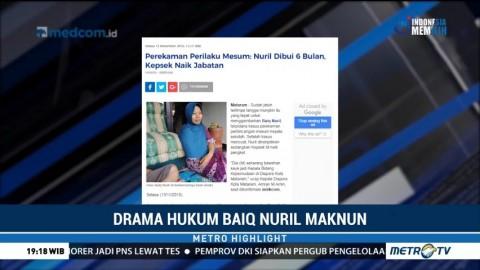 Drama Hukum Baiq Nuril Maknun