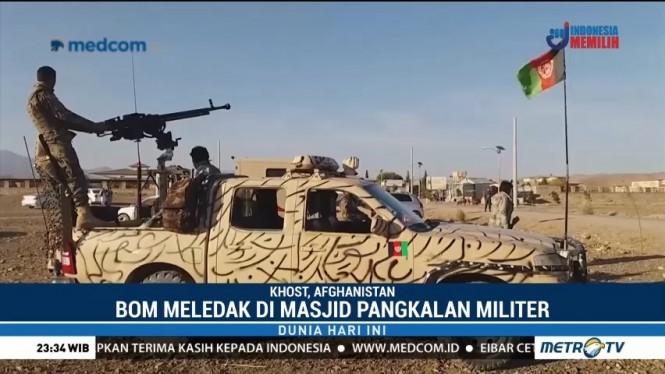 Bom Bunuh Diri Saat Salat Jumat di Afghanistan, 27 Tentara Tewas