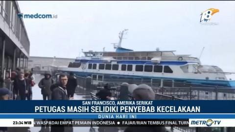 Kapal Feri Tabrak Dermaga di San Fransisco, Dua Orang Terluka