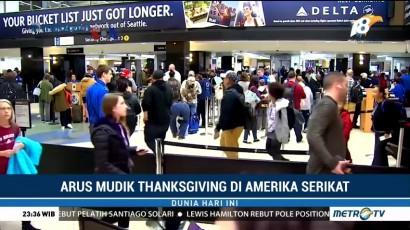 Arus Mudik Thanksgiving di Amerika Serikat
