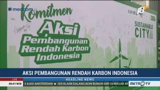 Aksi Pembangunan Rendah Karbon Indonesia Digelar di CFD