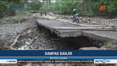 Jembatan Jebol Dihantam Banjir di Lembata
