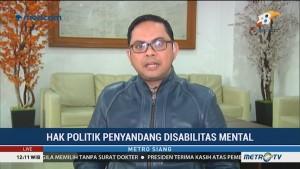 KPU: Hak Politik Penyandang Disabilitas Mental Bukan Hal Baru