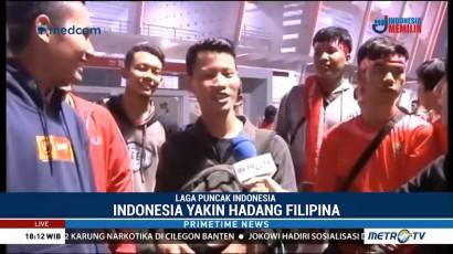 Fans Timnas Indonesia Tetap Antusias Saksikan Laga Kontra Filipina