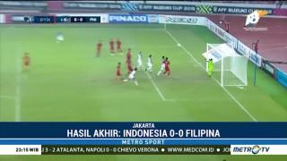Indonesia Kontra Filipina Berakhir Imbang Tanpa Gol