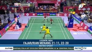 Fajar/Rian Raih Gelar Turnamen Syed Modi International 2018