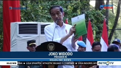 Jokowi Serahkan SK Perhutanan Sosial ke Masyarakat di Sumsel
