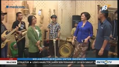 Kreasi Alat Musik dari Bambu yang Mendunia (1)