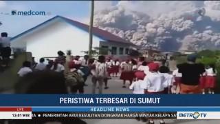 Kilas Balik Erupsi Sinabung Hingga Tragedi KM Sinar Bangun