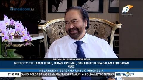 Surya Paloh Ceritakan Kisah di Balik Berdirinya Metro TV