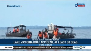 Lake Victoria Boat Accident, at Least 30 Dead