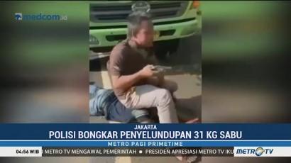 Bareskrim Polri Gagalkan Penyelundupan 31 Kg Sabu