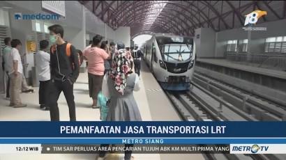 Pemanfaatan LRT di Palembang