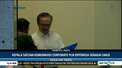 Pejabat PLN Diperiksa KPK untuk Tersangka Idrus Marham