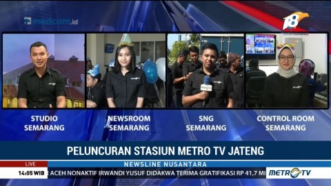 Stasiun Metro TV Jawa Tengah Resmi Diluncurkan