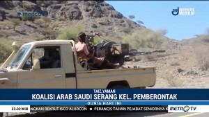 Arab Saudi Serang Pemberontak Houthi di Yaman
