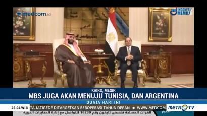 Putra Mahkota Arab Saudi Kunjungi Mesir