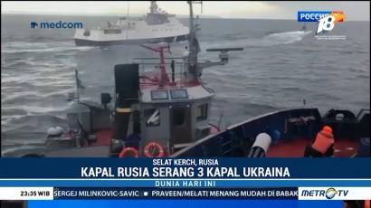 Kapal Nelayan Ukraina Ditembaki Militer Rusia