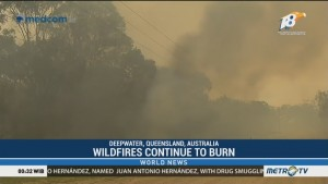Wildfires Continue to Burn in Queensland