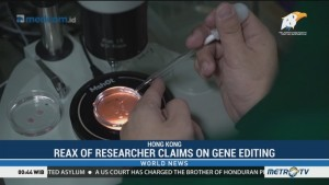 First Gene-edited Babies Reported
