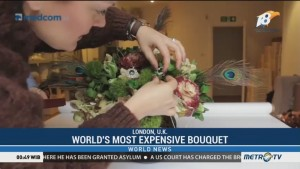 World's Most Expensive Bouquet