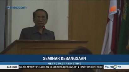 Sekretaris Jenderal MPR Gelar Seminar Kebangsaan