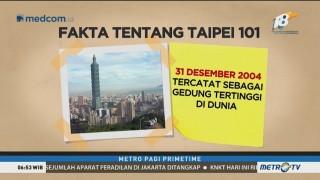 Melihat Pesona Taiwan dari Menara Taipei 101