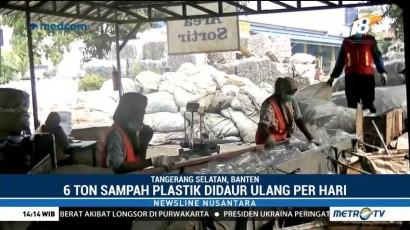 Daur Ulang Sampah Plastik Jadi Produk Ekonomis
