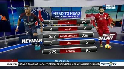 Perkiraan Formasi PSG vs Liverpool