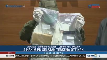 KPK Tetapkan 2 Hakim PN Jaksel Sebagai Tersangka