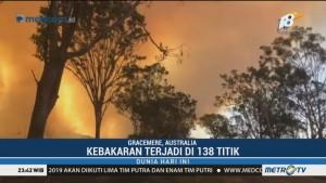 Kebakaran Hutan di Queensland Ditetapkan Sebagai Bencana Besar