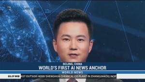 World's First AI News Anchor