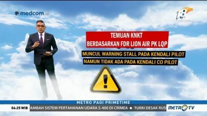 Penyebab Jatuhnya Lion Air JT610 Terkuak
