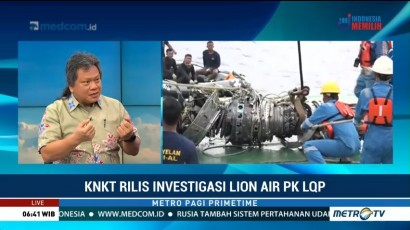 Pengamat: Penyebab Pasti Jatuhnya Lion Air JT610 Belum Diketahui
