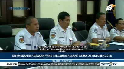 Rekomendasi KNKT Atas Jatuhnya Lion Air PK-LQP
