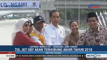 Tol Trans Jawa Segera Rampung