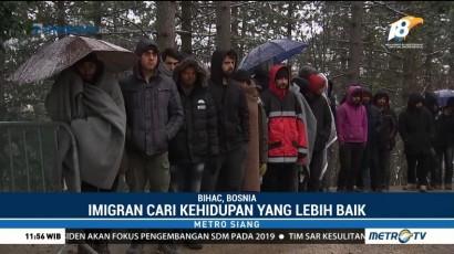 Kondisi Penampungan Imigran di Bosnia Memprihatinkan