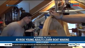 At-Risk Young Adults Learn Boat Making