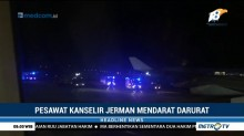 Rusak, Pesawat Kanselir Jerman Mendarat Darurat