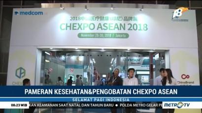 Tiongkok Gelar Pameran Kesehatan dan Pengobatan Lewat Chexpo ASEAN