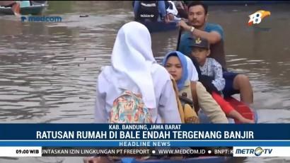 Ratusan Rumah di Baleendah Kembali Terendam Banjir