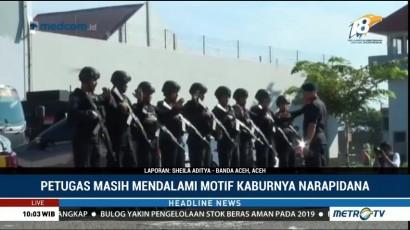 26 Napi Lapas Lambaro Aceh yang Kabur Ditangkap