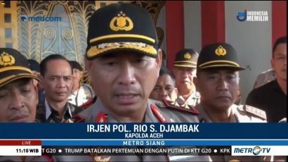 Kapolda Aceh Imbau Napi yang Kabur Segera Menyerahkan Diri