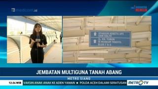 Pengoperasian Skybridge Pasar Tanah Abang Ditunda