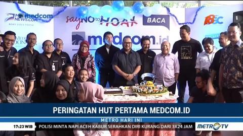 <i>Medcom.id</i> Rayakan Ulang Tahun Pertama