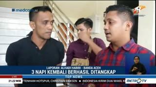29 Napi Kabur dari Lapas Banda Aceh Berhasil Ditangkap