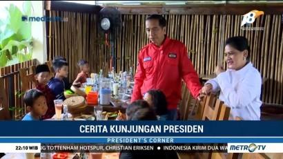 Cerita Kunjungan Presiden Jokowi