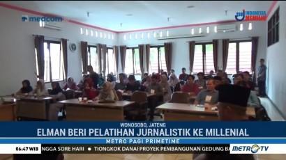 Media Group Gelar Pelatihan Jurnalistik Milenial di Wonosobo